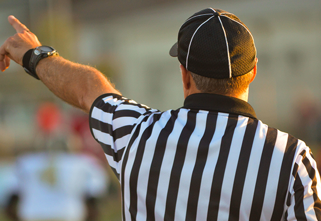 Controlling the game: A referee's guide